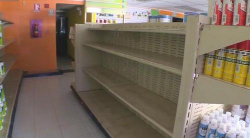 venezuela-shop-empty