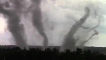 multi-tornadoes
