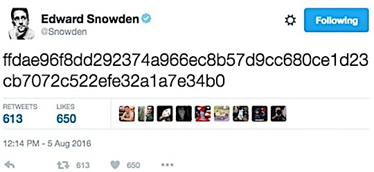 tweet-of-snoden-2016-0805