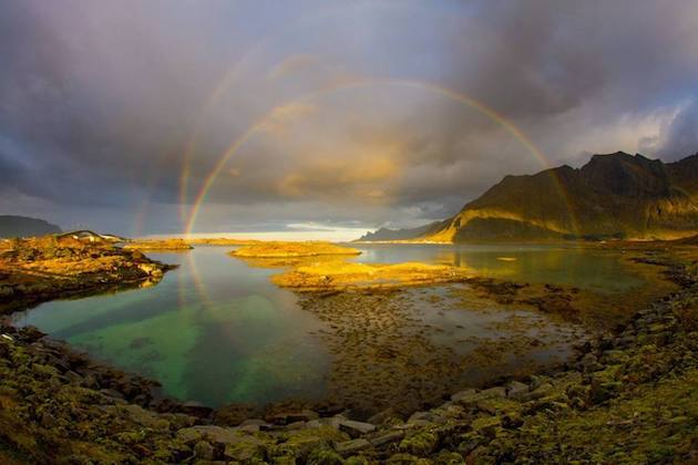 multiple-rainbow-norway