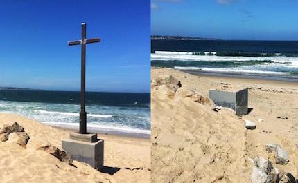 cross-beach-remove