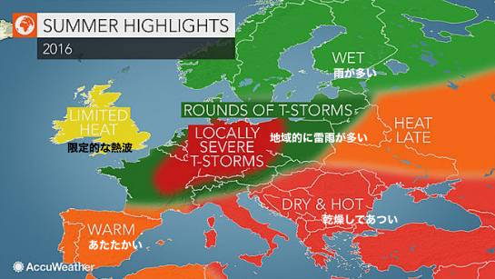 european-summer-2016-weather