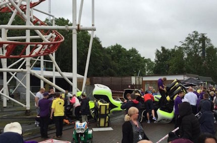 Rollercoaster crash