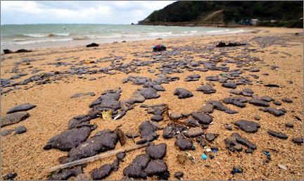 203高地のブログトカラ列島にある「宝島」という日本の島。流出した原油とコンデンセートに最初に襲われたのはその宝という名のつく美しく小さな島だった