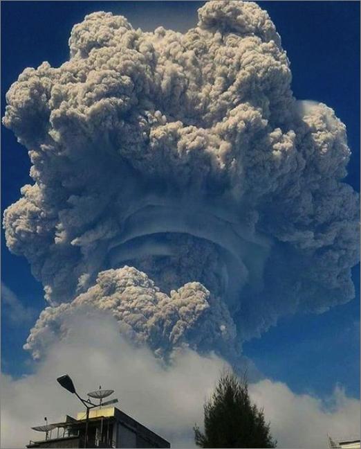 天賭ける! これから環太平洋火山帯はどうなる? : 近年最大級のモンスター噴火を起こしたシナブン山の黙示録的