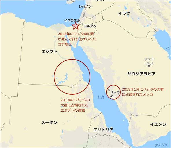 サウジアラビアの聖地メッカがイナゴに占領された光景から思い至る「聖書の世界を創る気候変動」という概念